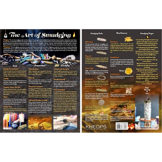 Art of Smudging Chart