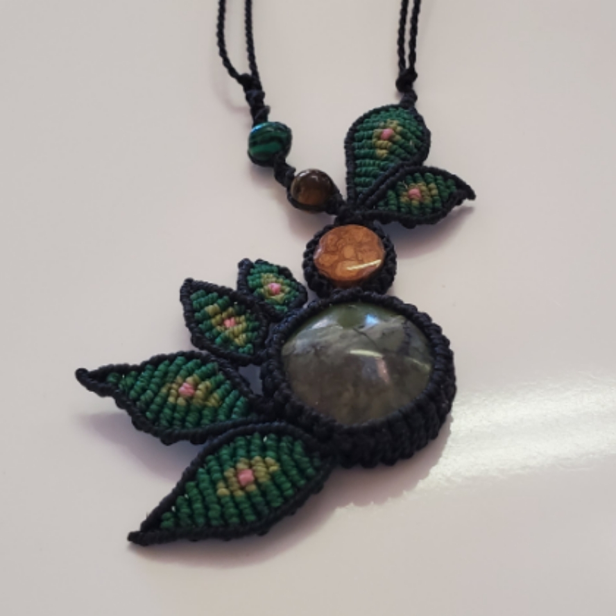 Aya and Serpentine With Tigers Eye And Malachite