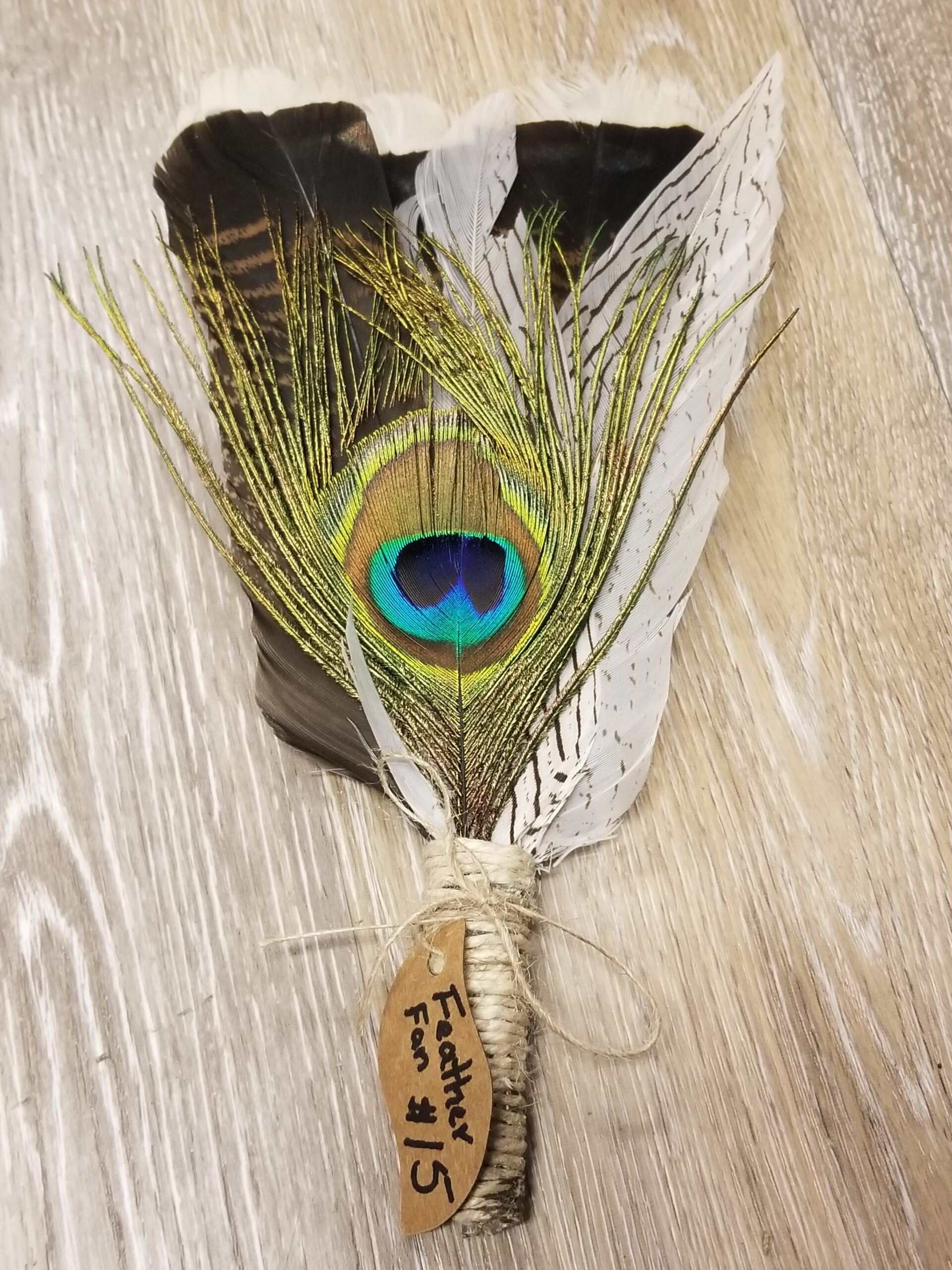 Feather Fan Smudge